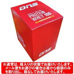 [DNS]プロテインホエイ100(35g×10袋)箱