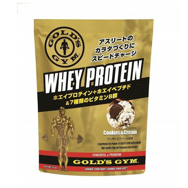 ゴールドジム ホエイプロテイン クッキー&クリーム風味(360g) 【当店在庫品】 [GOLD'S GYM_S]