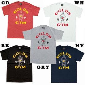 ゴールドジムウェア ベーシックTシャツ クラシックJ (M・L・XLサイズ) 【当店在庫品/メール便対応可】 [GOLD'S GYM_W]★ウエアまとめ買いキャンペーン★