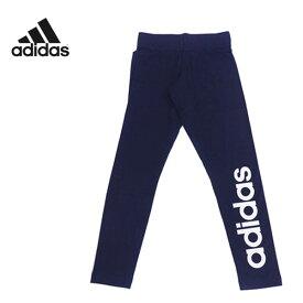 アディダス ロゴ レギンスタイツ(レディース/Mサイズ Lサイズ)[adidas]リニアロゴ トレーニング ※返品・交換不可セール商品※