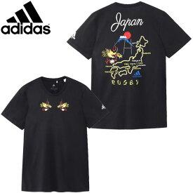 [adidas] アディダス 日本限定スカジャン風Tシャツ(メンズ/M・L・Oサイズ)【1910】【正規品】
