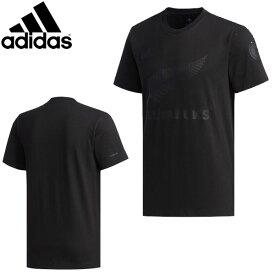 [adidas] アディダス オールブラックス 日本限定Tシャツ(メンズ/M・L・Oサイズ)〔ラグビーワールドカップ〕【1908】【数量限定商品】【正規品】