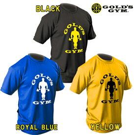 ゴールドジムウェア EXゴールズドライTシャツ シルエットジョー (M・L・XL・XXLサイズ)【当店在庫品/メール便対応可】 [GOLD'S GYM_W]★ウエアまとめ買いキャンペーン★