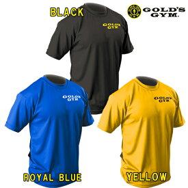 ゴールドジムウェア EXゴールズドライTシャツ スタックライン (M・L・XL・XXLサイズ)【メール便対応可】 [GOLD'S GYM_W]