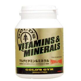 マルチビタミン&ミネラル(大サイズ 360粒)[GOLD'S GYM_S ゴールドジムサプリ]