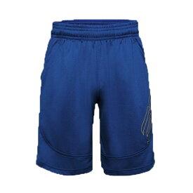 (XL/RYL) UAカリー アンダーレイテッド ショーツ メンズ 20FW11 [UNDER ARMOUR アンダーアーマー] バスケ バスケットボール バスパン NBA ウォリアーズ ブルー 練習 試合 部活 ※返品・交換不可セール商品