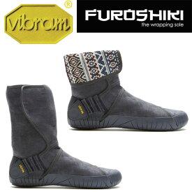 [vibram] ビブラム Furoshiki Mid Boot Eastern Traveler 〔Grey〕(ふろしき・包みこむブーツ)/送料無料
