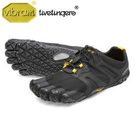 [vibram fivefingers] ビブラムファイブフィンガーズ Men's V-Trail 2.0〔Black/Yellow〕(メンズ ブイトレイル2.0)/送料無料