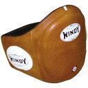 【競技を選ばないオールランドタイプ】WINDY(ウィンディ)ベリープロテクター Mサイズ BLPV 本革(カウ)COW