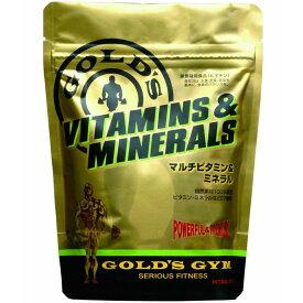 【100%天然素材使用】GOLD'S GYM(ゴールドジム)マルチビタミン&ミネラル 90粒[F2500]
