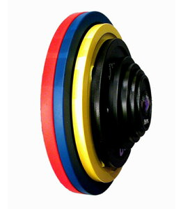 IVANKO(イヴァンコ)CBPPプレート(ペイントパワーリフティングプレート)競技用 CBPP-25kg(赤)【Φ50mmバーベルプレート】