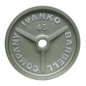 【入荷待ちご予約になります】【Φ50mmバーベルプレート】IVANKO(イヴァンコ)OMK オリンピックペイントプレート 2.5kg(リーズナブルな50mmプレート)OMK-2.5