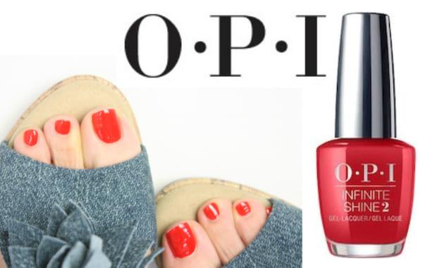 OPI(オーピーアイ)INFINITE SHINE(インフィニット シャイン) IS LN25 Big Apple Red(Creme)(ビッグ アップル レッド) opi マニキュア ネイルカラー ネイルポリッシュ セルフネイル 速乾 マット レッド 赤 検定カラー