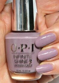 【期間限定クーポン配布中】OPI(オーピーアイ)INFINITE SHINE(インフィニット シャイン)IS L56 If You Persist(イフ ユー パーシスト) opi マニキュア ネイルカラー ネイルポリッシュ セルフネイル 速乾 パープル 紫 グレー 灰色 クールモーヴ マット