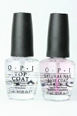 OPI(オーピーアイ)ベースコート&トップコート セット opi マニキュア ネイルカラー ネイルポリッシュ セルフネイル 速乾