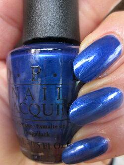 クーポン使えます!【40%OFF】OPI(オーピーアイ) NL B24 Blue My Mind(ブルー マイ マインド) opi マニキュア ネイルカラー ネイルポリッシュ セルフネイル 速乾 青 ロイヤルブルー ラメ sale