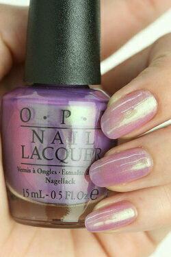 クーポン使えます!【40%OFF】OPI(オーピーアイ) NL B28 Significant Other Color(サイニフィカント・アザー・カラー) opi マニキュア ネイルカラー ネイルポリッシュ セルフネイル 速乾 パープル 紫 ピンクライラック パールミント シアー 透明 sale