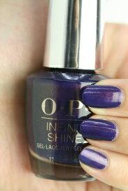 OPI INFINITE SHINE(インフィニット シャイン) IS-LI57 Turn On the Northern Lights!(Shimmer)(ターン オン ザ ノーザン ライツ!) opi マニキュア カラー ポリッシュ セルフネイル 速乾 青 ミッドナイトブルー パープル 紫 パール