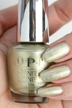 【定形外送料無料】OPI INFINITE SHINE(インフィニット シャイン) HR-J51 Gift of Gold Never Gets Old(Pearl)(ギフト オブ ゴールド ネバー ゲッツ オールド) opi ネイル マニキュア カラー ポリッシュ セルフネイル 速乾 金色 パール メタリック sale