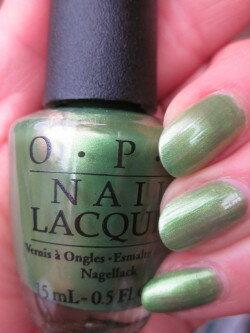 【1000円ポッキリ】OPI(オーピーアイ) NL H66 My Gecko Does Tricks(マイ・ゲッコー・ダズ・トリックス)opi マニキュア ネイルカラー ネイルポリッシュ セルフネイル 速乾 パールグリーン 緑 ハワイ ハワイ