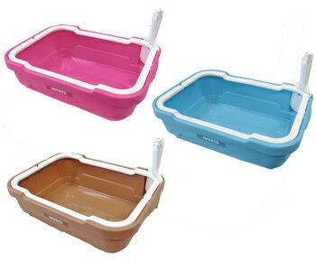 ボンビ しつけるトイレ C-S 猫用トイレ ピンク/ブルー/ブラウン