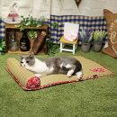 ドギーマンござにゃん枕つき朝涼み猫用