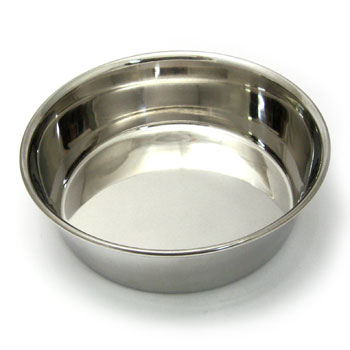 ターキー ステンレス食器 直径20cm SC-200 中型犬用