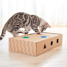 エイムクリエイツミュー(mju:)ニャンコロビーボックスナチュラル猫用おもちゃ