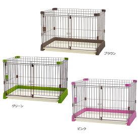 リッチェル ペット用 お掃除簡単サークル 90-60 超小型・小型犬用 【犬用】