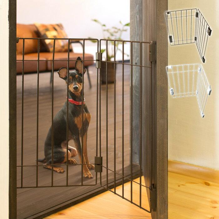 ドア用犬フェンス ウェルカムドッグフェンス PG6055 超小型犬・小型犬専用 タカラ産業【送料無料!※北海道・沖縄は540円かかります】
