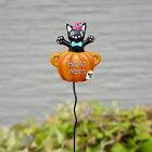 ハロウィン飾り友膳(you-zen)ポットピック5EH1202【黒猫キャットかぼちゃジャックオランタン雑貨グッズオーナメントかわいい】