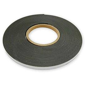 (アウプル) マグネットテープ ソフトマグネットシート 磁気テープ 強力固定可 冷蔵庫メモ 工具 道具 固定 (幅10mm x 厚さ2mm x 長さ10m)