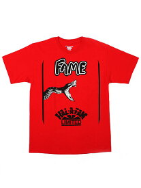 【SALE】HALL OF FAME SNAKE S/S TEE【HOF-FL11-D1-09-RED】