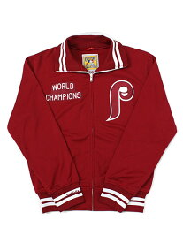 【送料無料】MITCHELL & NESS BP TRACK JKT-81PHILLIES【5574-4AF-81PHIL-BURGUNDY】