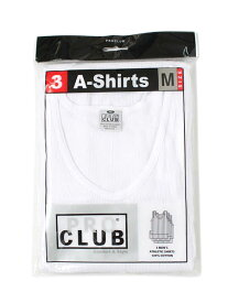 PRO CLUB 3PACK A-SHIRTS【PRC1X-3ASTT-WHT-WHITE】