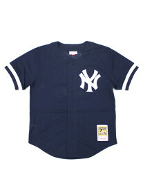 【送料無料】MITCHELL & NESS MESH BP-BERNIE WILLIAMS #51 NYY【7339-418-98BEWI-NAVY】