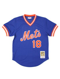 【送料無料】MITCHELL & NESS AUTHENTIC MESH BP-D.STRAWBERRY #18 METS【5621-417-DSTRA8-BLUE】