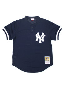 【送料無料】MITCHELL & NESS AUTHENTIC MESH BP-B.WILLIAMS #51 NYY【5621-418-95BEWI-NAVY】