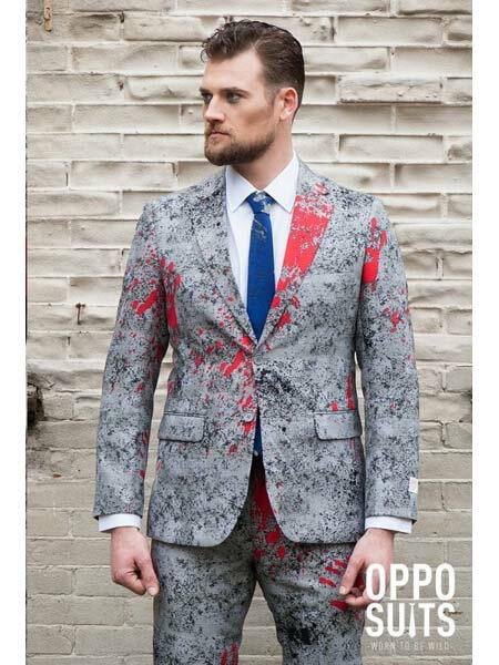 【送料無料】OPPO SUITS ZOMBIAC【OSUI-0037-GREY】