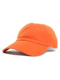 NEW HATTAN 6PNL COTTON CAP【NH-1400ORG-ORANGE】