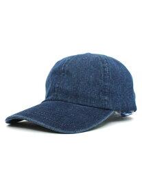 NEW HATTAN 6PNL DENIM CAP【NH-1155DKW-DARK BLUE】