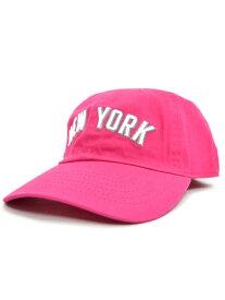 NEW HATTAN NY 6PNEL COTTON CAP【NH-NY01-1420HPK-HOT PINK】