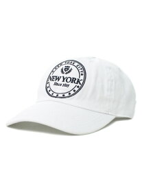 NEW HATTAN NYC 6PNL COTTON CAP【NH-NY03-1405WHT-WHITE】