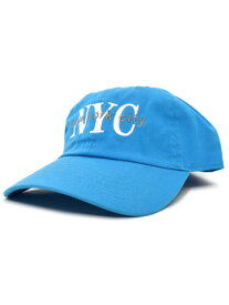 NEW HATTAN NEW YORK CITY 6PNL COTTON CAP【NH-NY02-1424TUQ-TURQUOISE】
