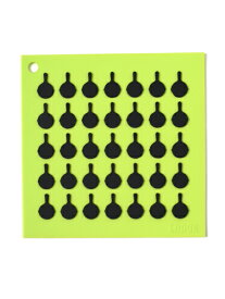 LODGE SILICONE TRIVET【AS7S51-LIGHT GREEN】