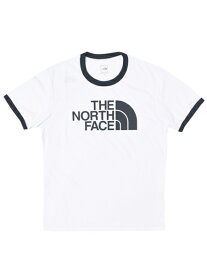 THE NORTH FACE RINGER TEE【NT31880-WU-WHITE】