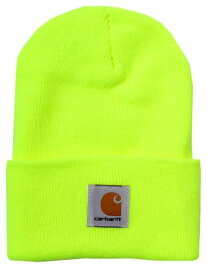 CARHARTT ACRYLIC WATCH HAT-BRITE LIME【A18-BLM-NEON YELLOW】