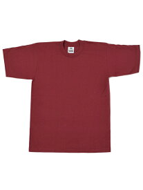 PRO CLUB HEAVY WEIGHT S/S TEE-BURGUNDY【PRC1X-HWTST-BUG-BURGUNDY】