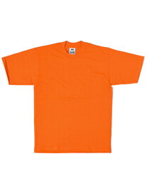 PRO CLUB HEAVY WEIGHT S/S TEE-ORANGE【PRC1X-HWTST-ORG-ORANGE】