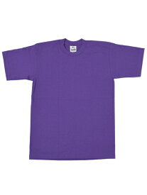 PRO CLUB HEAVY WEIGHT S/S TEE-PURPLE【PRC1X-HWTST-PUR-PURPLE】
